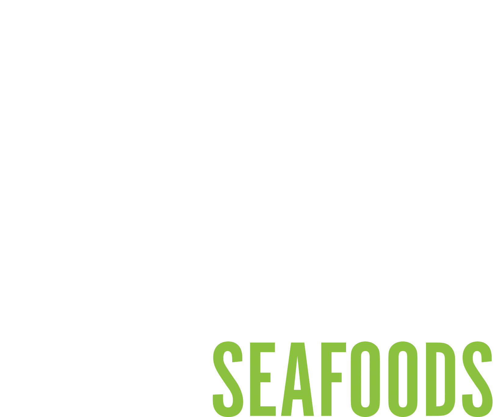 Thomas Cappo Logo WHITE Green Seafood